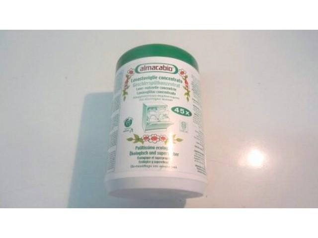 detergente per lavastoviglie igienizzante totalmente ecologico super pulente, elimina gli odori