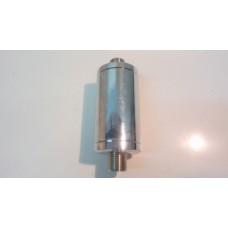 16002   dispositivo magnetico anticalcare, mezzo pollice, acciaio cromato, applicabile dopo il contatore dell'acqua