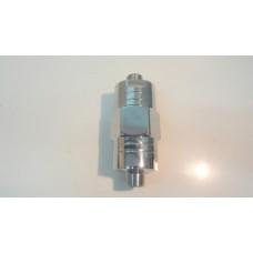 7003   dispositivo magnetico esagonale anticalcare, mezzo pollice, acciaio cromato, applicabile dopo il contatore dell'acqua