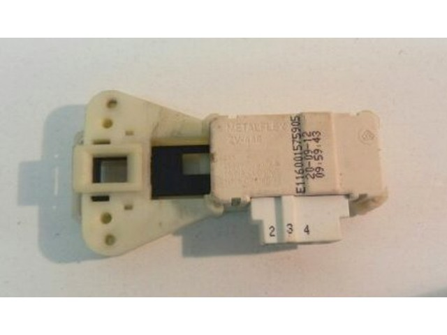 Bloccaporta lavatrice Indesit IWC71051 cod 166001575905