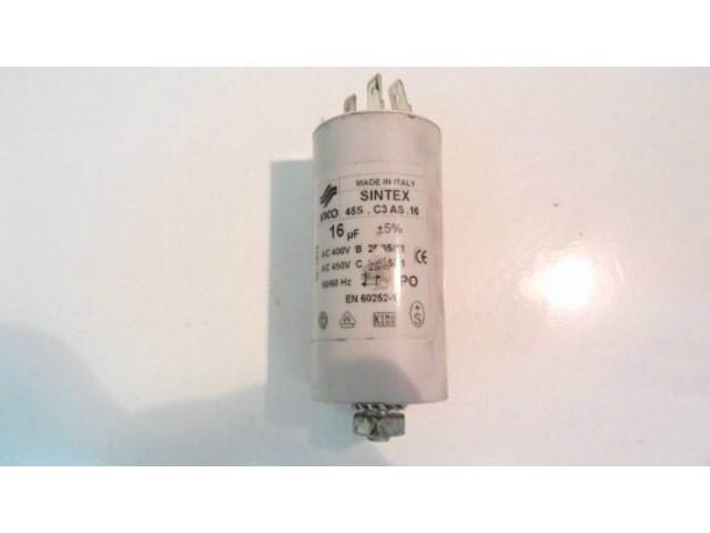 Condensatore lavatrice Siltal SLE60 cod en60252-1