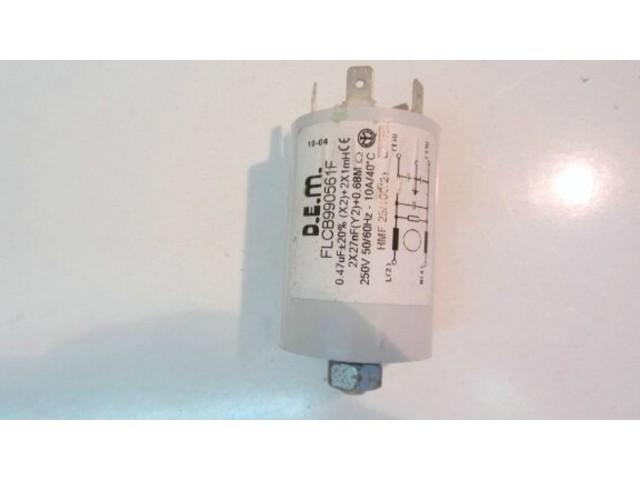 Condensatore lavatrice Wega White WWTL850A cod flcb990561f