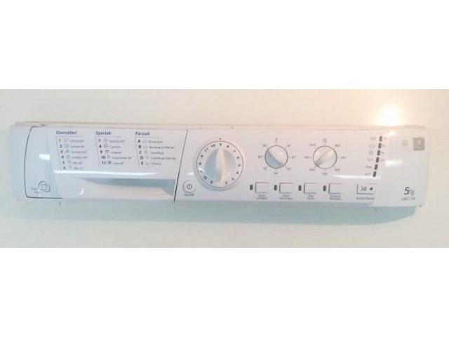 frontale   lavatrice ariston arsl108 completo di scheda  21014289700