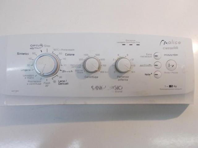 frontale lavatrice sangiorgio sgt380  completo di scheda comandi 251671821   008399