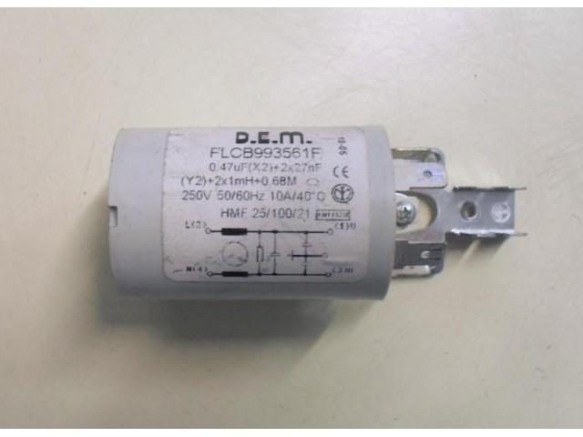 Condensatore lavatrice Ardo S1000X cod flcb993561f