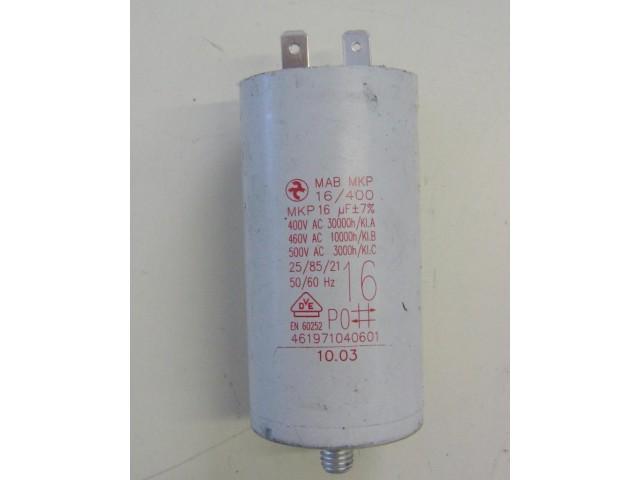 Condensatore lavatrice Ignis AWV465/M cod 461971040601