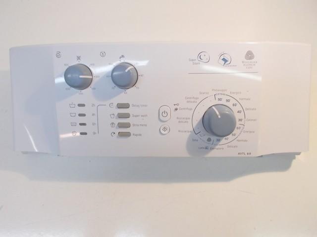 frontale per lavatrice ariston avt89 completo di scheda 21013057301