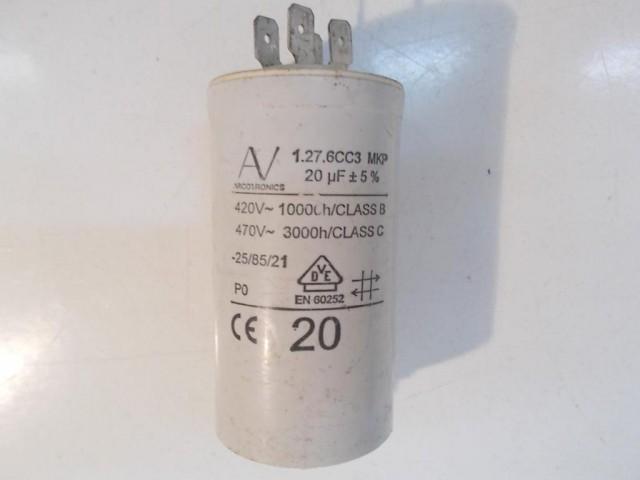 Condensatore lavatrice Ocean 603TX cod 1.27.6cc3mkp