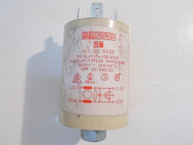 Condensatore lavatrice Ariston AV1049TX cod 411.10.5033